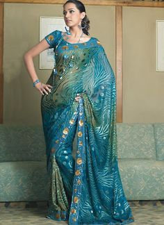 Brasso Work Sarees  (Gotta find M a fiance so I can wear this sari to her wedding!!!!!!!)