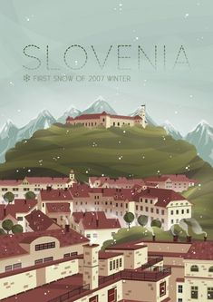 Slovenia #TravelEuropeIllustration