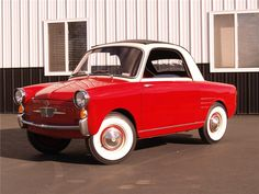 Sold* at Scottsdale 2011 - Lot #695 1959 AUTOBIANCHI TRANSFORMABLE 2 DOOR