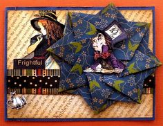 The Altered Alice: Donna's Halloween Printer's Tray