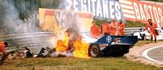 Porsche 956, Stefan Bellof, fatal crash at 1000 km of Spa, 1 September 1985 Just a tribute to the reckless and famous Stefan Bellof. After all those years, it still gives me shivers to recall this crash, ending his life shortly after touching Jacky...