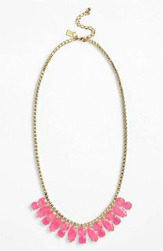 kate spade new york 'marquee' frontal...    $76.80. Statement jewelry like this is awesome for summer!