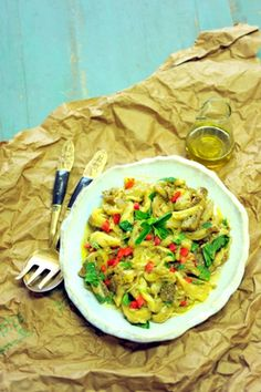 Eggplant Salad with Mint & Red Capsicum - a delicious way to lower your blood sugar & cholesterol!
