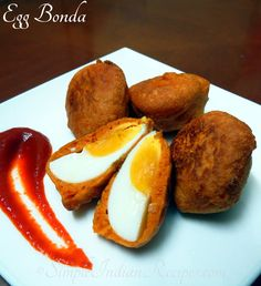 Deep Fried Deviled Eggs, Deviled Eggs Recipe, Easy Indian Recipes, Ethnic Recipes, Hard Boiled Egg Recipes, Paneer Dishes, Tea Time Snacks, Egg Dish, Savory Snacks