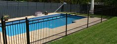 Dolphin is a proud supplier of aluminium fencing in Melbourne - an versatile option that is suitable for almost any application around your home or business. Aluminium Fencing, Aluminum Pool Fence, Pool Ideas, Backyard Ideas, Swimming Pool Designs, Swimming Pools, Fence Ideas, Melbourne Australia, Fences