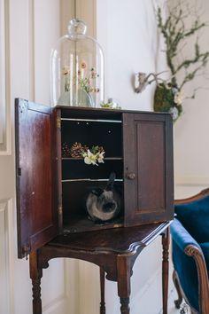 Winter wedding vignette // Emily Elizabeth Events + A Love Supreme Photography + Pretty Flowers Maine