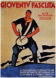Gioventù Fascista, Sept. 1931 #TuscanyAgriturismoGiratola