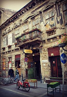 The epitome of the ruin pub, Szimpla  Kért in Budapest, Hungary, has become quite famous.