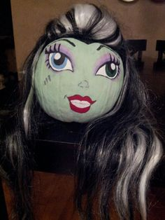 monster high frankie stein pumpkin