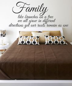 'Family' Wall Decal Set