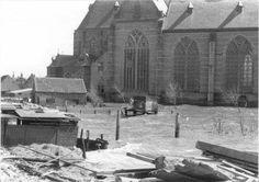 Watersnood Brouwershaven (jaartal: 1950 tot 1960) - Foto's SERC