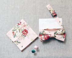 Mens Bowtie Bow Tie for Men  Wedding Groom Bow Tie by NAFEstudio