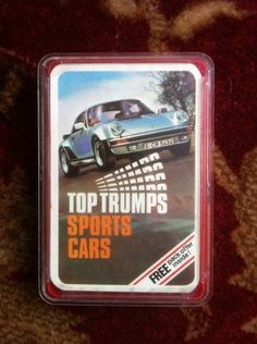 Top Trumps Exotic Sports Cars Luvdby Discover Share Collect - Sports cars top trumps