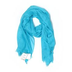 Calvin Klein Scarf ($22) ❤ liked on Polyvore featuring accessories, scarves, blue, blue scarves, blue shawl, calvin klein and calvin klein scarves