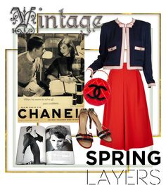"""""""Cute spring cardi"""" by cool-cute ❤ liked on Polyvore featuring TIBI, Karl Lagerfeld, Chanel, cutecardigan and springlayers"""
