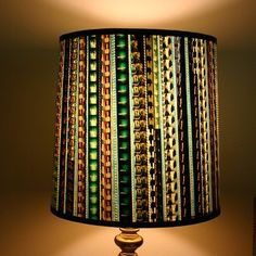 film lamp shade - perfect for the artsy person in your life
