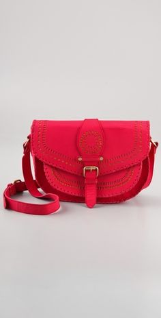 Cleobella Cantina Large Bag... Obsessed with coral lately