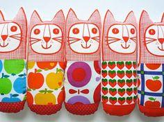 Scandinavian style toys by English designer Jane Foster on Etsy