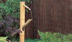 How to Make a Water Bamboo Hammer by gardenersworld.   DIY