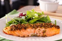 One of the most delicious (and easy) salmon recipes you will ever make. Seriously.