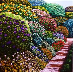 View Bunnythorpe Road by Karl Maughan at Page Galleries in Wellington, New Zealand. Discover more artworks by Karl Maughan on Ocula now. New Zealand Art, Nz Art, Creative Background, Garden Painting, Source Of Inspiration, Contemporary Artists, Art Gallery, Landscape, Floral