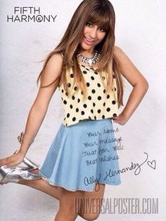 ally Brooke from fifth harmony