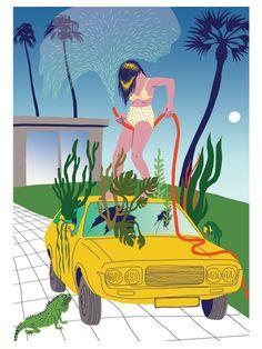 VO | Valérie Oualid : Agent d'illustrateurs | Ludwick Hernandez | L'été Comic Books, Illustrations, Comics, Artist, Movie Posters, Illustration, Artists, Film Poster, Cartoons