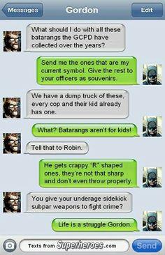 textsfromsuperher - Batman Funny - Funny Batman Meme - - textsfromsuperher The post textsfromsuperher appeared first on Gag Dad. Geeks, Superhero Texts, Comic Text, Nananana Batman, I Am Batman, Batman Stuff, Dc Anime, Dc Memes, Batman Family