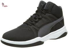 Puma Rebnd Street Evo Sl, Sneakers Hautes Garçon, Noir (Black/Asphalt), 37 EU - Chaussures puma (*Partner-Link)