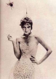 """As a Tzarina"" Photographer: Paolo Roversi Model: Angela Lindvall Magazine: Vogue Italia Date: September, 1997"