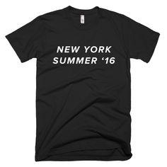 "CTC Slogan Tee ""New York Summer '16"""