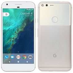 Google Pixel XL G-2PW2100 Unlocked Project Fi T-Mobile Silver AT