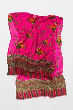 Amapolas Scarf from Anthroplogie...love the bright colors + design