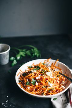 Sweet and Spicy Carrot Salad with Feta-6