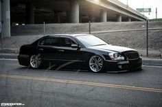 Classy Does It // Matthew's Slammed Infiniti Q45. | Stance:Nation - Form > Function