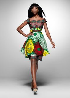 From the archive: a party look from Vlisco's 2011 'Nouvelle Histoire' collection - Holy cow, I am obsessed with this skirt.