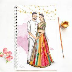 Dipti Patel Illustration (@dipti.illustration) • Instagram photos and videos Dress Design Drawing, Dress Design Sketches, Fashion Design Sketchbook, Dress Drawing, Fashion Design Drawings, Fashion Sketches, Dress Designs, Art Sketches, Dress Illustration