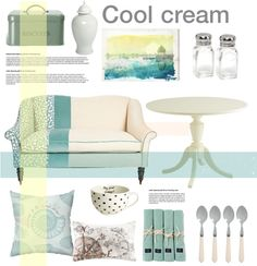"""""""Cool cream"""" by rheeee on Polyvore"""