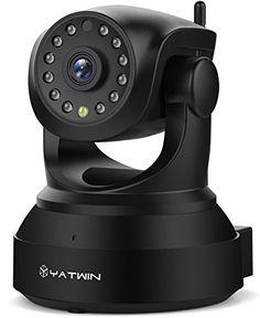 [Nouvelle Version] Caméra IP WiFi 720P-1080P YATWIN Caméras de Surveillance: ✔ Alerte Détection de Mouvement ✔: Cette camera ip sans fil…