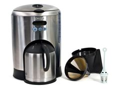 I love my DeLonghi 10-cup thermal cafe & coffee maker!