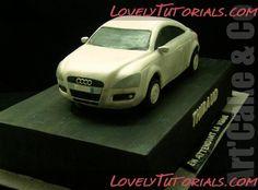Торт машина Audi -Carved 3D Audi car cakes - Мастер-классы по украшению тортов Cake Decorating Tutorials (How To's) Tortas Paso a Paso