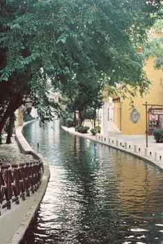 City Canal in Playa del Carmen Mexico