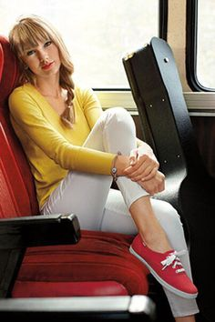 LIKE if you're wearing ur #REDKeds to show ur support forTaylor Swift at @TheGRAMMYs this weekend!