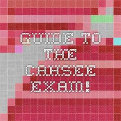 cahsee essay types