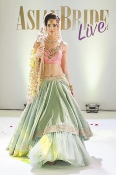 #asian #bridal #lehenga #pastellehenga #magazine #editorial