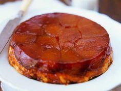 Tarte Tartin de maçãs com crocante de açúcar fantástico