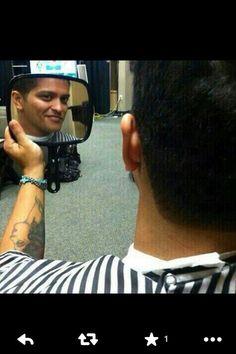 Bruno Mars haircut