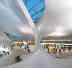 Arnhem Central in the Netherlands, which was devised by the Amsterdam-based firm UNStudio