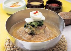 Korean food - Nengmyun noodles, perfect for summer!