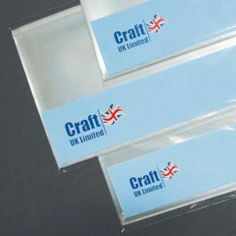 Craft UK UK Cello Bags 8 X 8